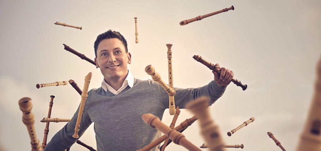 5 x Flöte mit Maurice Steger